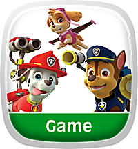 Paw Patrol Learning Game
