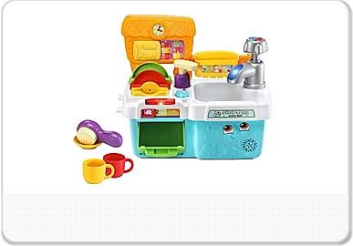 Toddler Toys Scrub N Play Smart Sink Leapfrog Leapfrog