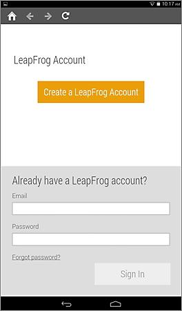 LeapFrog Account