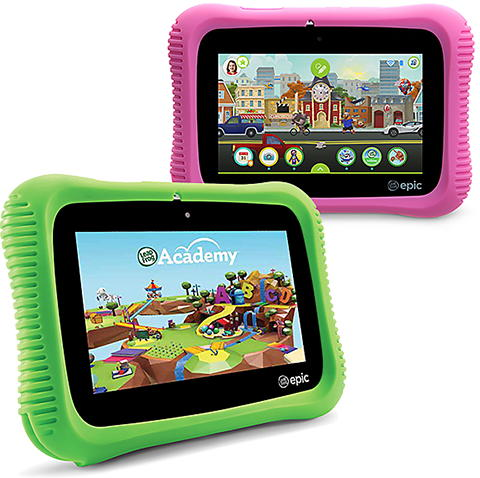 LeapFrog Epic Academy in Green or Pink