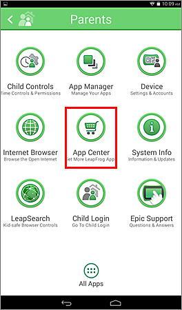 Parents App Center