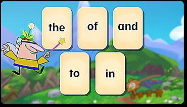 Grammar, game, learning, prepositions