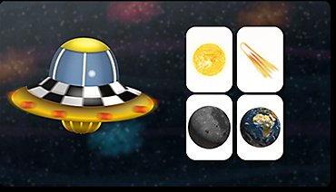 Solar system, planets, sun, moon, stars