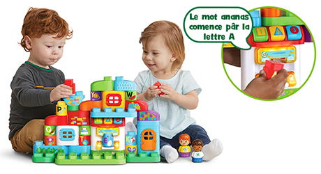 LeapBuilders Ma maison alphabet interactive