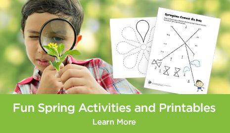 Fun Spring Activities and Printables