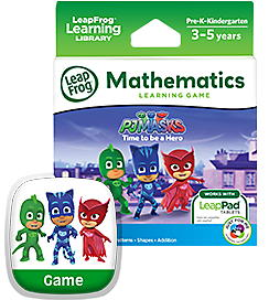 PJ Masks Time to Be a Hero Learning Game