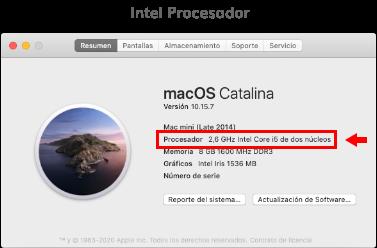 Intel Procesador