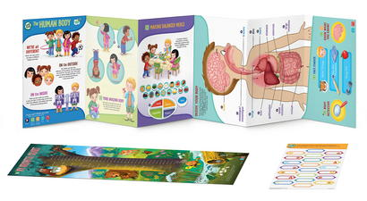 LeapStart Go The Human Body Deluxe Activity Set