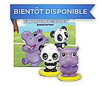 Hippopotame et Panda Le Livre + Figurines