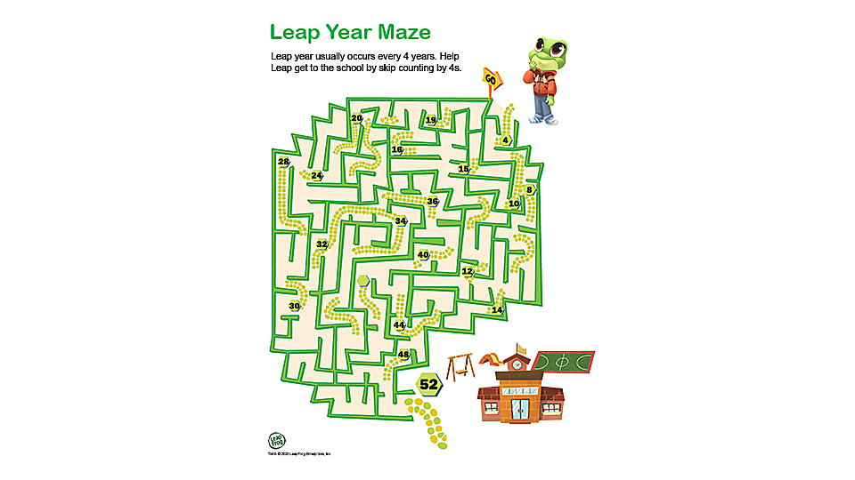 Leap Year Maze Preview
