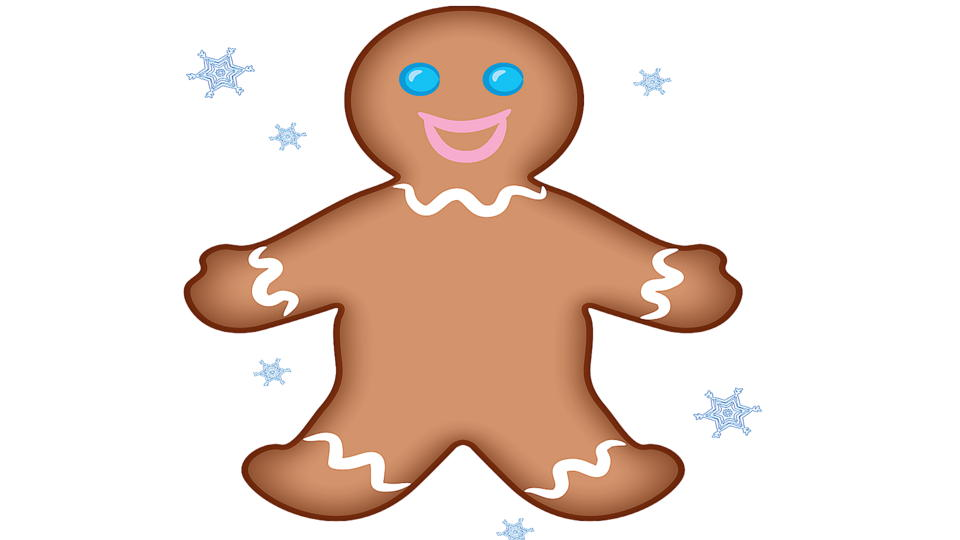 It is a photo of Gingerbread Printable within template