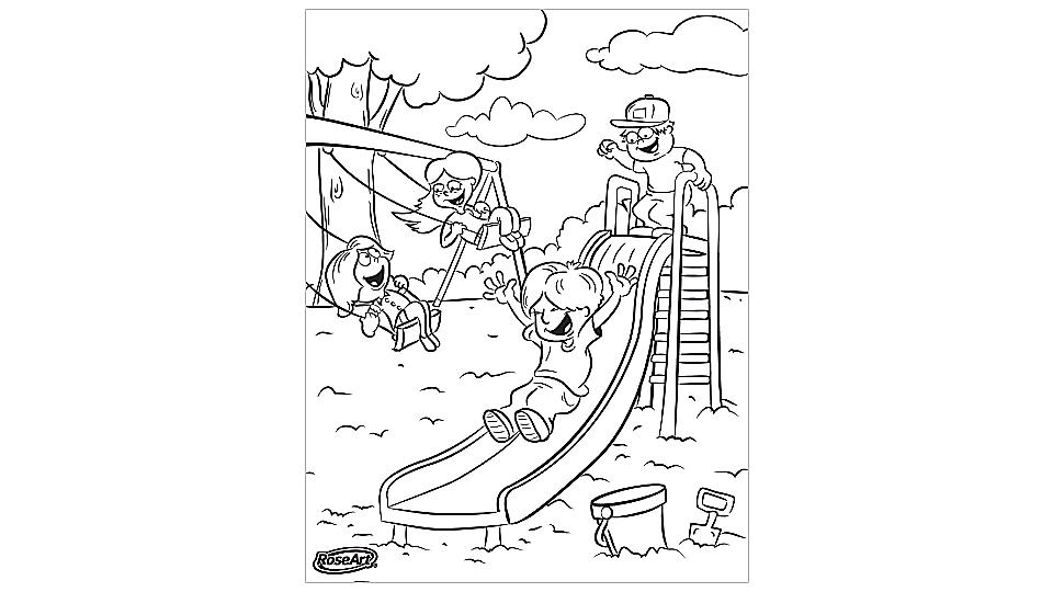 - School-themed Coloring Pages