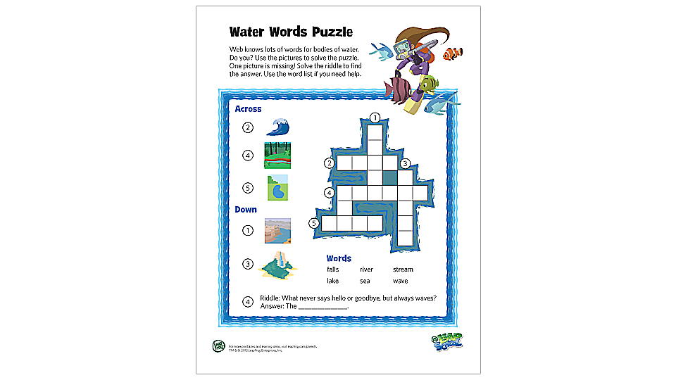 It is a photo of Science Crossword Puzzle Printable throughout grade 3