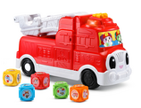 Tumbling Blocks Fire Truck