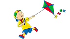 Caillou: Outdoor Fun