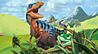 LeapReader™ Book: Leap and the Lost Dinosaur - French Version