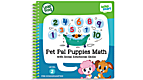 LeapStart™ Pet Pal Puppies Math with Social Emotional Skills 30+ Page Activity Book