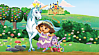LeapReader™ Book: Dora the Explorer: Tale of the Unicorn King