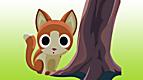 Poltron le chaton et la forêt hantée