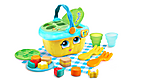 Shapes & Sharing Picnic Basket Yellow