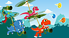 LeapTV T-Rex Rush: Egg Spelling Collection Crew