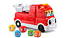 Tumbing Blocks Fire Engine
