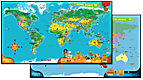 Tag™ World Map—French Version
