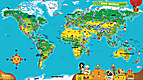 LeapReader™: Interactive World Map