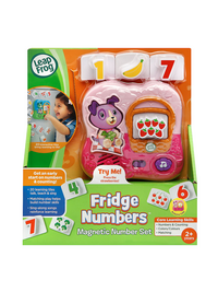 Fridge Numbers Magnetic Number Set - Online Exclusive Pink