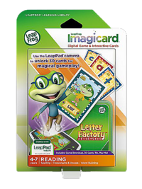 LeapFrog Imagicard Game, Letter Factory Adventures