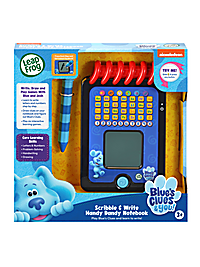 Blues Clues Scribble Write Notebook