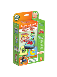 LeapReader™ Junior Interactive Letter Factory™  Flash Cards