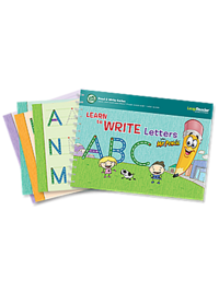 Learn to Write Letters with Mr. Pencil Deluxe Activity Set