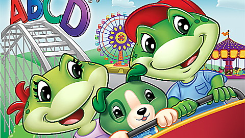 The Amazing Alphabet Amusement Park DVD