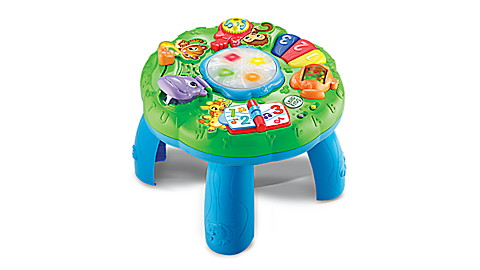 Animal Adventure Learning Table - French Version