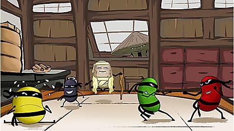 LeapTV Banzai Beans: Ninja Number Challenge