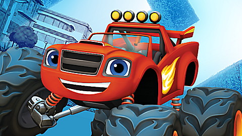 Blaze and the Monster Machines: High-Speed Adventures!