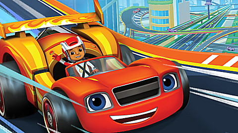 Blaze and the Monster Machines: Race Car Adventures!