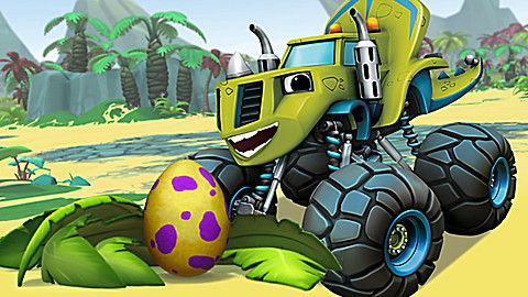 Blaze and the Monster Machines: Wild Races and Chases