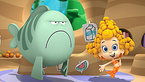 Bubble Guppies: Swim to School!