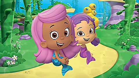 Bubble Guppies: Dive Into Size!