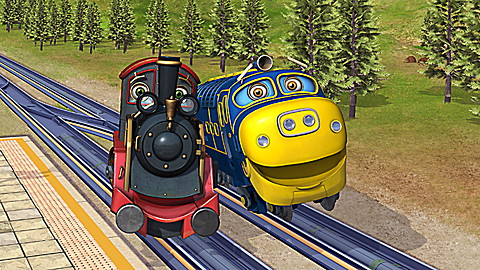 Chuggington: All About Brewster
