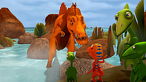 Dinosaur Train: Gone to Big Pond
