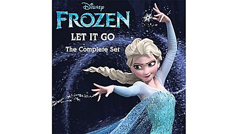 Disney Frozen: Let It Go - The Complete Set