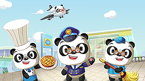 Dr. Panda Places to Go App Collection
