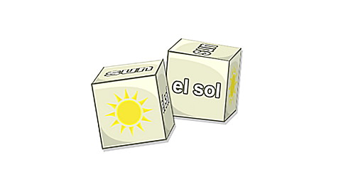 Brain Blocks Flash Cards: Spanish Vocabulary
