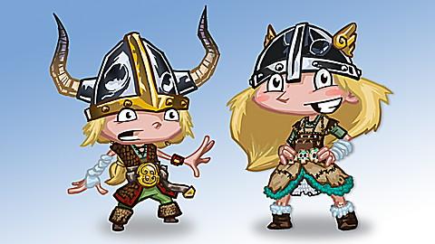 Holi and Oli: Viking Adventure