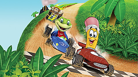 LeapTV: LeapFrog Kart Racing: Supercharged! Educational, Active Video Game