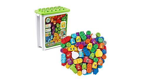 FR Leapbuilders 81 Piece Jumbo Blocks
