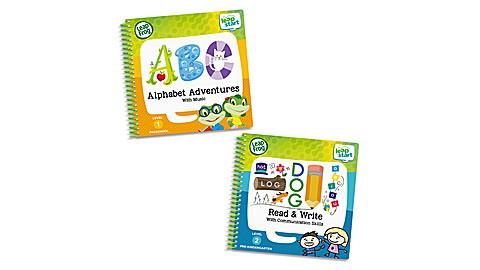 LeapStart 2 Book Combo Alphabet Read